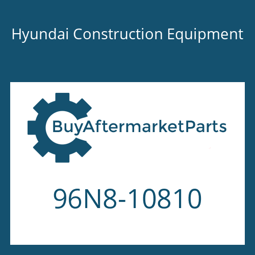 Hyundai Construction Equipment 96N8-10810 - DECAL-SPECIFICATIONS