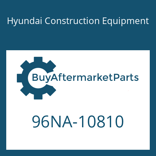 Hyundai Construction Equipment 96NA-10810 - DECAL-SPECIFICATIONS