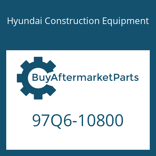 Hyundai Construction Equipment 97Q6-10800 - DECAL-SERVICE INSTRUCTION