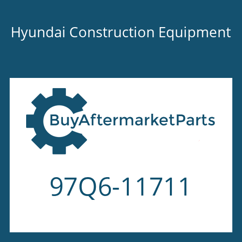 Hyundai Construction Equipment 97Q6-11711 - DECAL-SPECIFICATIONS