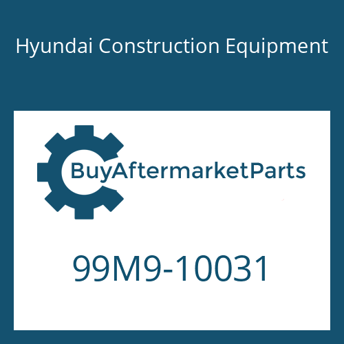 Hyundai Construction Equipment 99M9-10031 - DECAL-MODEL NAME