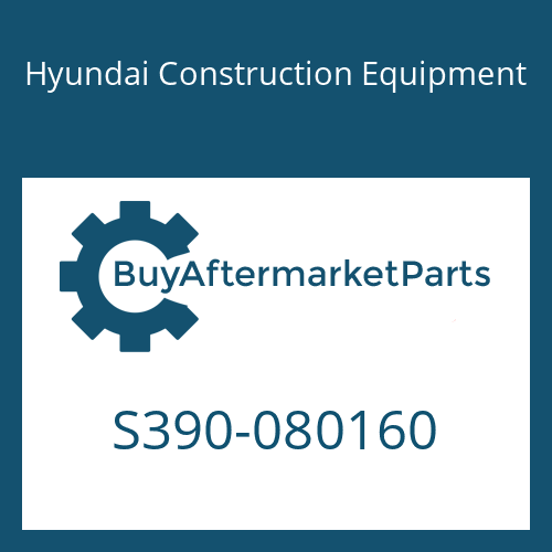 Hyundai Construction Equipment S390-080160 - SHIM-ROUND 0.5