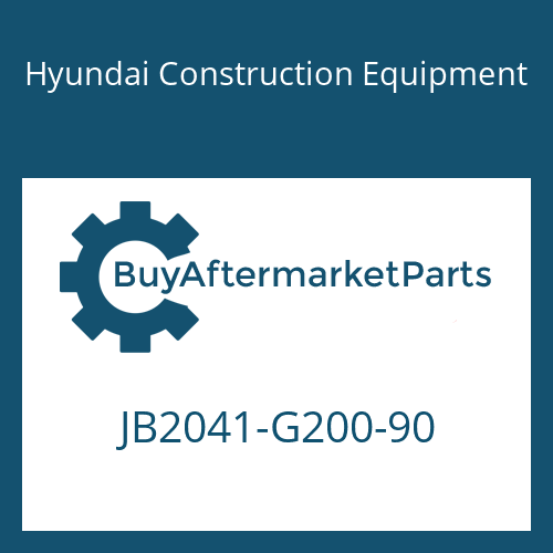 Hyundai Construction Equipment JB2041-G200-90 - O-RING, TRAVEL MOTOR