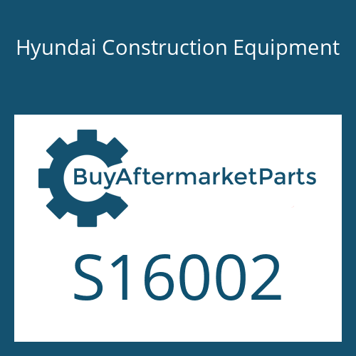 Hyundai Construction Equipment S16002 - BEARING-BALL