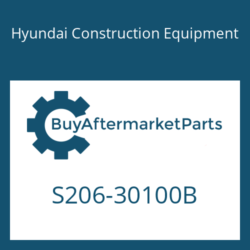 Hyundai Construction Equipment S206-30100B - NUT-HEX
