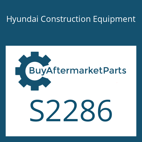 Hyundai Construction Equipment S2286 - SCREW-DRIVE