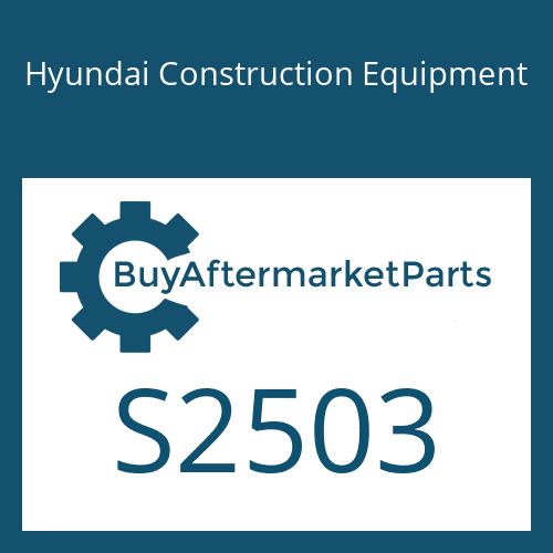 Hyundai Construction Equipment S2503 - O-RING