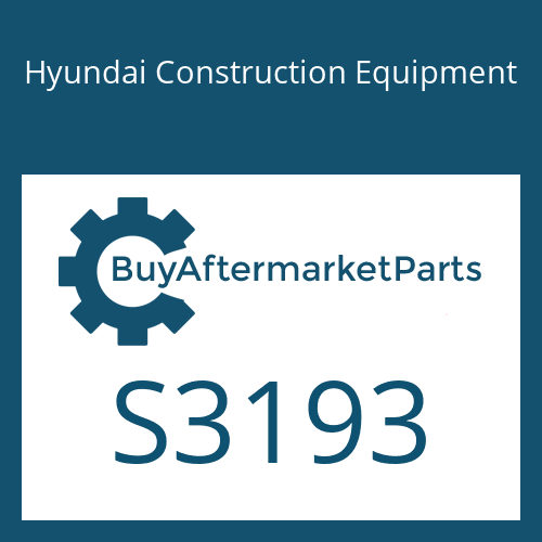 Hyundai Construction Equipment S3193 - PIN-GROOVE