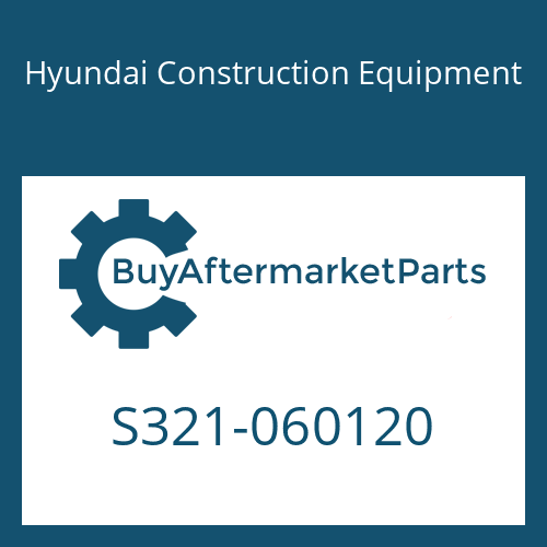 Hyundai Construction Equipment S321-060120 - STOPPER-PIN