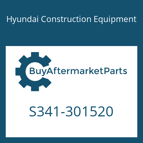 Hyundai Construction Equipment S341-301520 - PLATE-TAPPED,ECCTR HOLE