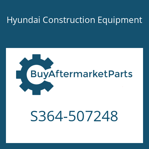 Hyundai Construction Equipment S364-507248 - PLATE-TAPPED,2 HOLE