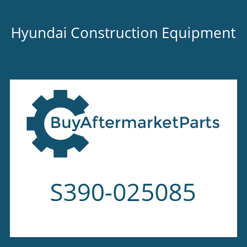 Hyundai Construction Equipment S390-025085 - SHIM-ROUND 0.5