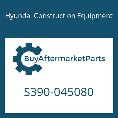 Hyundai Construction Equipment S390-045080 - SHIM-ROUND 0.5