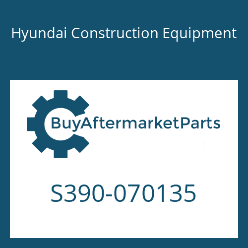 Hyundai Construction Equipment S390-070135 - SHIM-ROUND 0.5