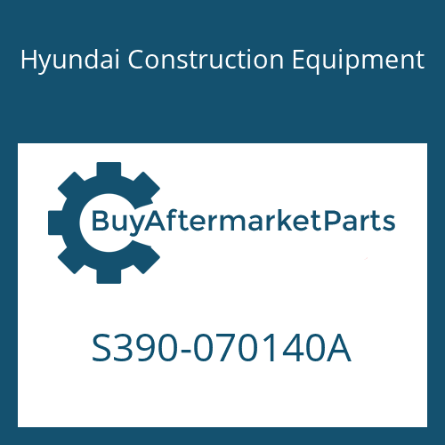 Hyundai Construction Equipment S390-070140A - SHIM-ROUND 0.5