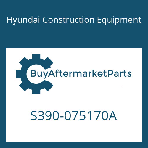 Hyundai Construction Equipment S390-075170A - SHIM-ROUND 0.5