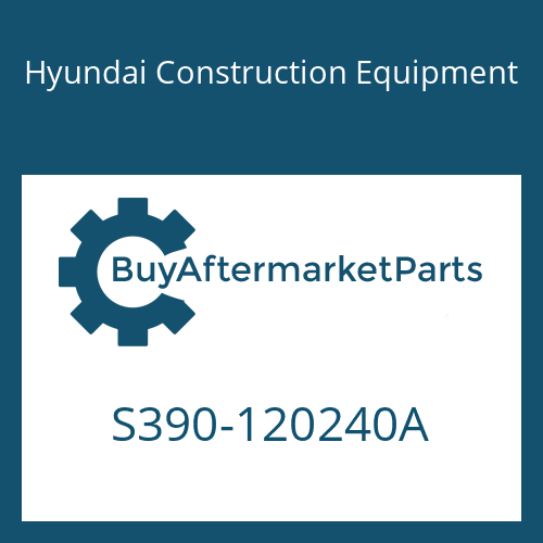 Hyundai Construction Equipment S390-120240A - SHIM-ROUND(0.5T)