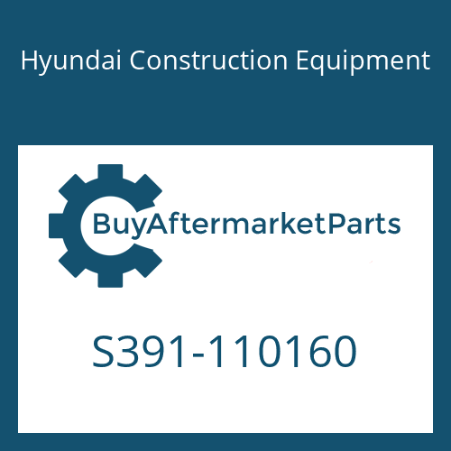 Hyundai Construction Equipment S391-110160 - SHIM-ROUND 1.0
