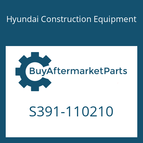 Hyundai Construction Equipment S391-110210 - SHIM-ROUND 1.0