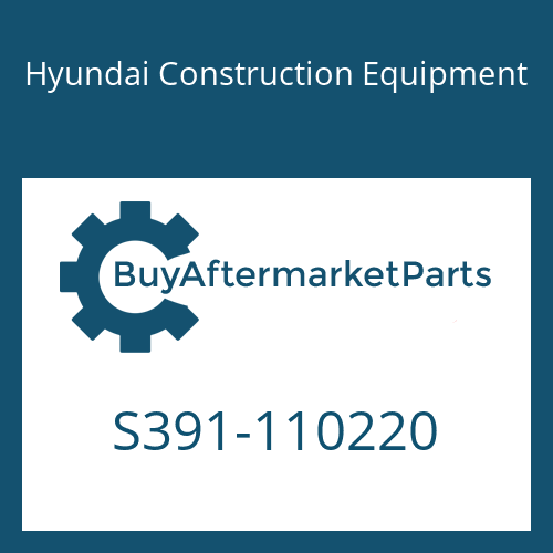 Hyundai Construction Equipment S391-110220 - SHIM-ROUND 1.0