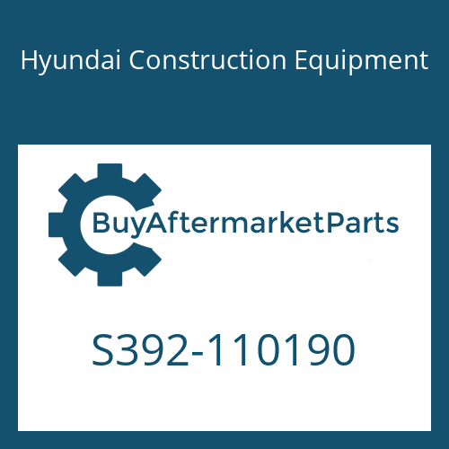 Hyundai Construction Equipment S392-110190 - SHIM-ROUND 2.0