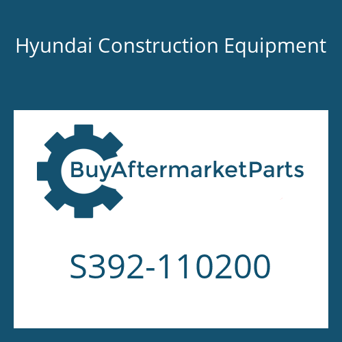 Hyundai Construction Equipment S392-110200 - SHIM-ROUND 2.0