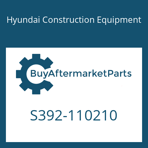 Hyundai Construction Equipment S392-110210 - SHIM-ROUND