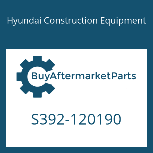 Hyundai Construction Equipment S392-120190 - SHIM-ROUND 2.0