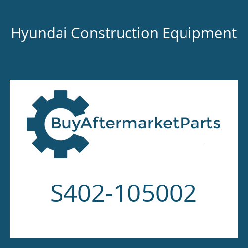 Hyundai Construction Equipment S402-105002 - PLAIN WASHER
