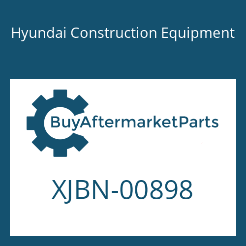 Hyundai Construction Equipment XJBN-00898 - COVER-FRONT