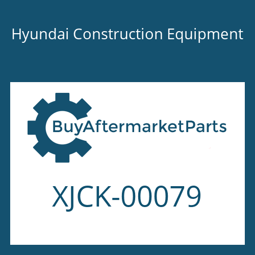 Hyundai Construction Equipment XJCK-00079 - GEAR-PLANET