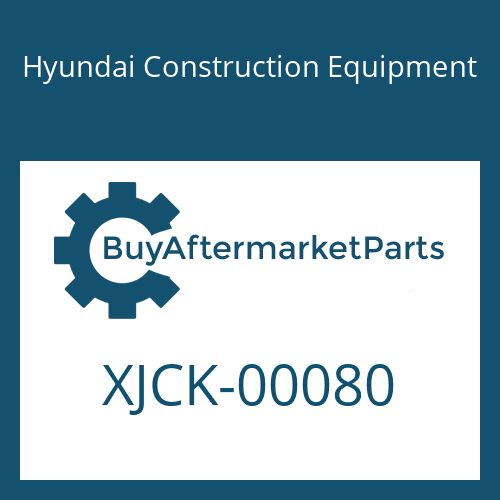 Hyundai Construction Equipment XJCK-00080 - COVER
