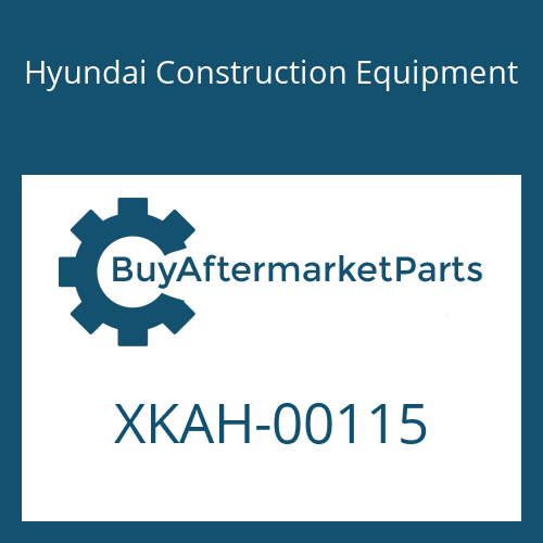 Hyundai Construction Equipment XKAH-00115 - BLOCK