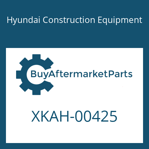 Hyundai Construction Equipment XKAH-00425 - SPOOL-MAIN