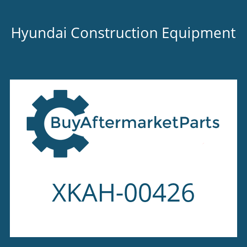 Hyundai Construction Equipment XKAH-00426 - FLANGE-REAR