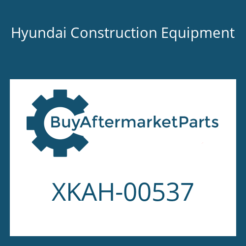 Hyundai Construction Equipment XKAH-00537 - SPACER