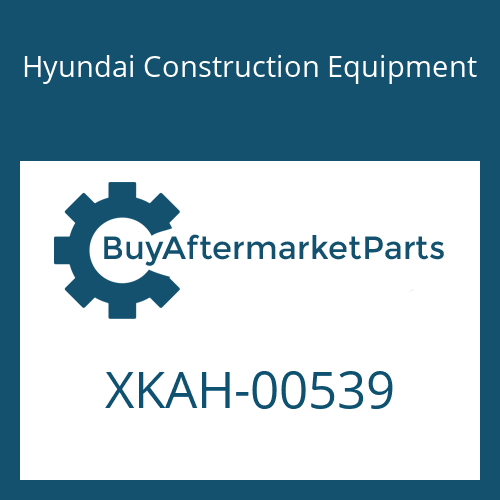 Hyundai Construction Equipment XKAH-00539 - BLOCK-VALVE