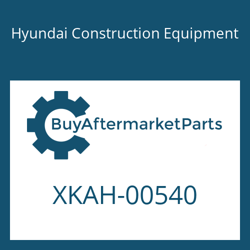 Hyundai Construction Equipment XKAH-00540 - VALVE