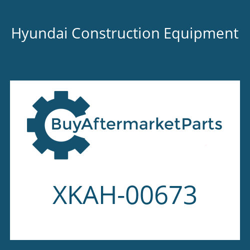 Hyundai Construction Equipment XKAH-00673 - CASE