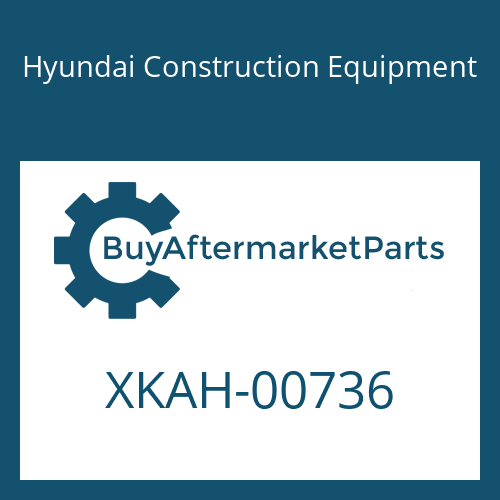 Hyundai Construction Equipment XKAH-00736 - PLATE-SWASH