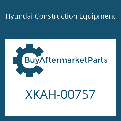 Hyundai Construction Equipment XKAH-00757 - PIN-PARALLEL