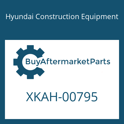Hyundai Construction Equipment XKAH-00795 - FLANGE-REAR