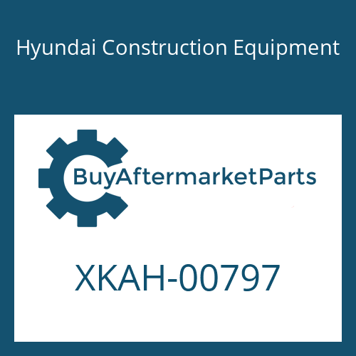 Hyundai Construction Equipment XKAH-00797 - FLANGE ASSY-REAR