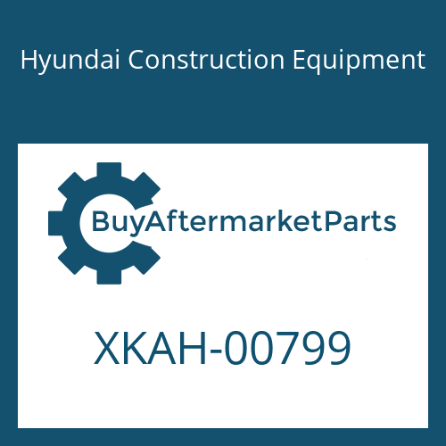 Hyundai Construction Equipment XKAH-00799 - O-RING