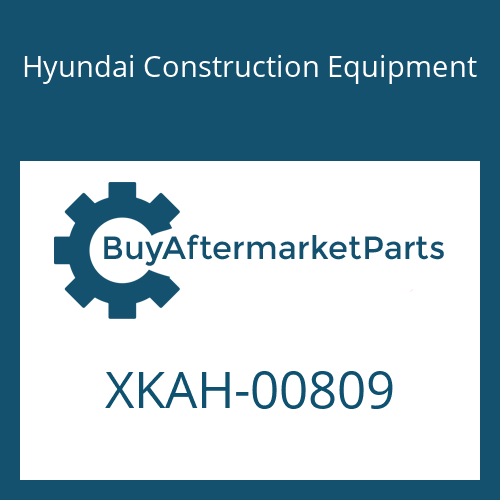 Hyundai Construction Equipment XKAH-00809 - GEAR-SUN