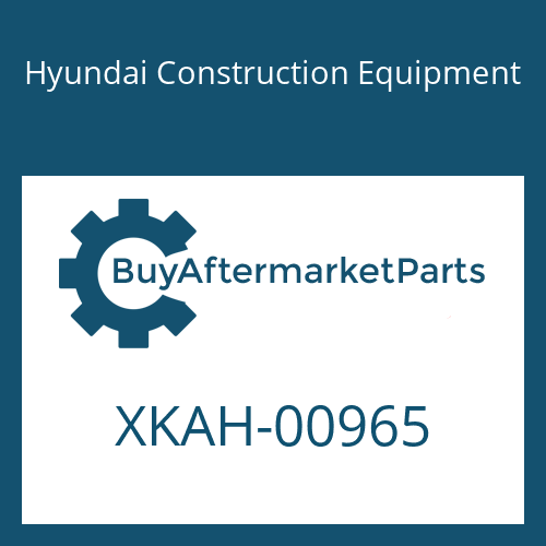 Hyundai Construction Equipment XKAH-00965 - RING-SNAP