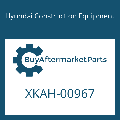 Hyundai Construction Equipment XKAH-00967 - O-RING