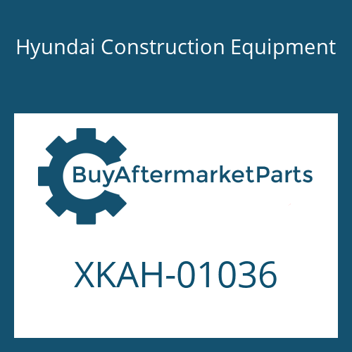 Hyundai Construction Equipment XKAH-01036 - FLANGE KIT-REAR