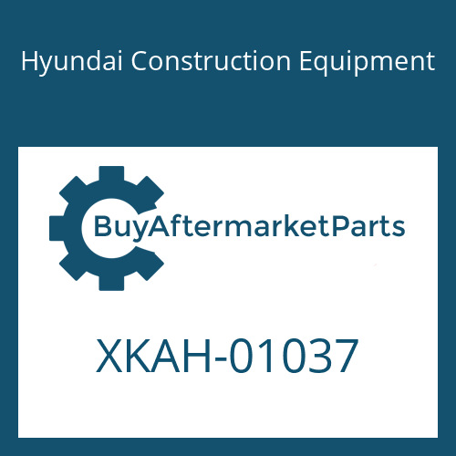 Hyundai Construction Equipment XKAH-01037 - FLANGE-REAR