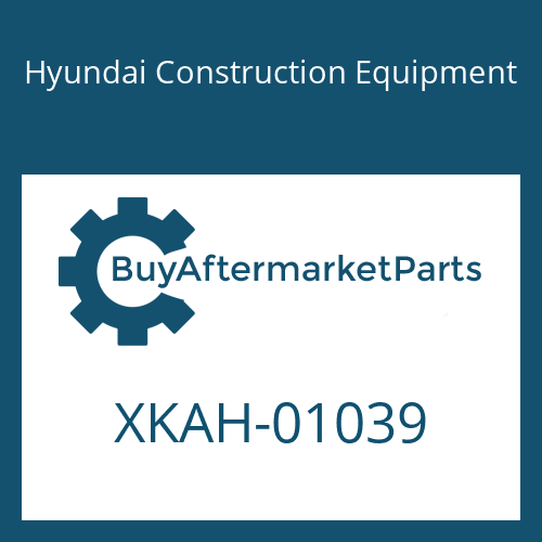 Hyundai Construction Equipment XKAH-01039 - VALVE-2SPEED